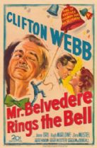 Mr Belvedere Rings the Bell 1951 DVD - Clifton Webb / Joanne Dru